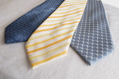 A group of modern Neckties Royalty Free Stock Photography