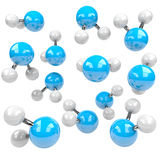 Group of Molecules Royalty Free Stock Photos