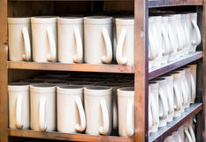 Group of mugs Stock Image