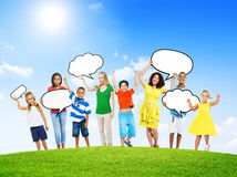 Group of Multi-Ethnic Mixed Age People Royalty Free Stock Image