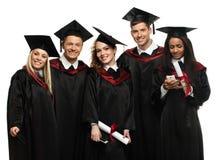 Group of multi ethnic students Stock Photo