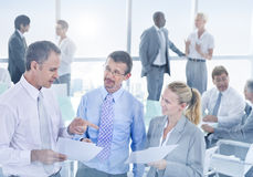 Group of Multiethnic Business People Meeting Stock Photo