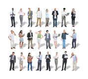 Group of Multiethnic Business People Using Digital Devices Royalty Free Stock Image