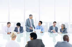 Group of multiethnic business person meeting Stock Photography