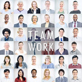 Group of Multiethnic Diverse Business People Stock Photography