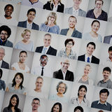 Group of Multiethnic Diverse Business People Concept royalty free stock image