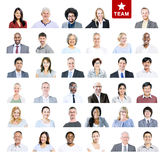 Group of Multiethnic Diverse Business Team.  Royalty Free Stock Photos