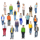 Group of Multiethnic Diverse Cheerful People Royalty Free Stock Image
