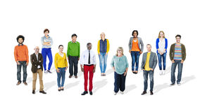 Group of Multiethnic Diverse Cheerful People Royalty Free Stock Photo