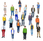 Group of Multiethnic Diverse Cheerful People Royalty Free Stock Photography
