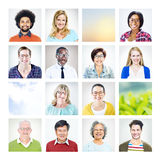 Group of Multiethnic Diverse World People Royalty Free Stock Photos