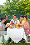 Group of multiethnic friends stock photo