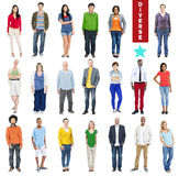 Group of Multiethnic People with Diverse Concept Stock Photo