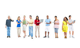 Group of Multiethnic People Lifestyle.  Royalty Free Stock Photo