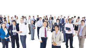 Group of Multiethnic World Business People Royalty Free Stock Photo