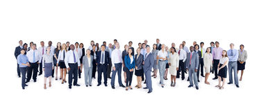 Group of Multiethnic World Business People Royalty Free Stock Photos
