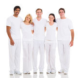 Group multiracial friends Royalty Free Stock Images