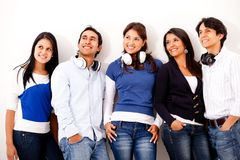 Group of music lovers Stock Photo