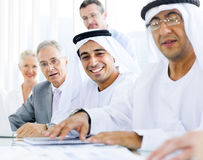 Group of Mutiethnic Business People Meeting Stock Photos