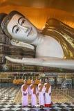 Shwethalyaung Buddha - Bago - Myanmar (Burma) Royalty Free Stock Photos