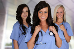 Group Of Nurses Stock Photography