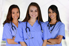 Group Of Nurses Stock Image