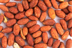 Group of nuts collection Stock Photos