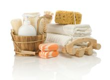 Group Of Bathing Articles Stock Images