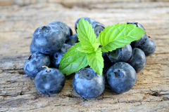 Group Of Blueberries Stock Images