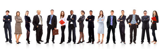 Free Group Of Business People Royalty Free Stock Photography - 18556797