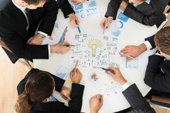 Free Group Of Businesspeople Planning For Startup Stock Photography - 52415812