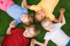 Free Group Of Children Stock Photos - 10435973