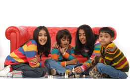 Group Of Children Playing Royalty Free Stock Photography