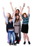 Group Of Cute And Happy Kids Stock Images