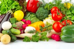 Group Of Different Vegetables Stock Photography