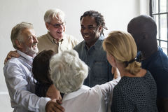 Free Group Of Diverse People Gathering Together Support Teamwork Stock Image - 99197671