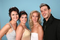 Group Of Four People Royalty Free Stock Image