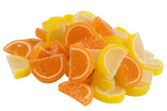 Group Of Fruit Candy Royalty Free Stock Images
