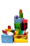 Group Of Gifts Stock Photography