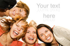 Group Of Happy Friends Royalty Free Stock Image