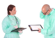 Group Of Healthcare Workers Stock Images