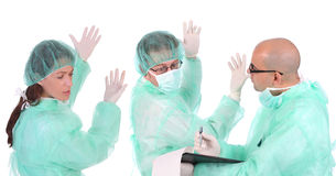 Group Of Healthcare Workers Royalty Free Stock Image