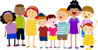 Free Group Of Kids Having Fun Stock Photo - 35722560