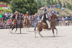 Free Group Of Latin Indigenous Cowboys Riding A Horse Royalty Free Stock Image - 49527946