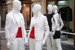 Group Of Mannequins Royalty Free Stock Images