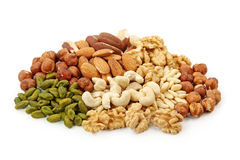Free Group Of Nuts Royalty Free Stock Photos - 18439488