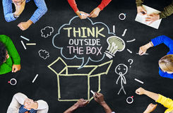 Free Group Of People Discussing About Thinking Concept Stock Images - 43739794