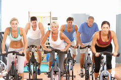 Free Group Of People In Spinning Royalty Free Stock Image - 16303146