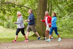 Free Group Of Seniors Walking Or Walking Stock Images - 181530724
