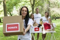 Group Of Teenagers Volunteering Stock Images